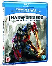 TRANSFORMERS EL LADO OSCURO DE LA LUNA BLU RAY + DVD + COP DIGITAL ( SIN ABRIR )