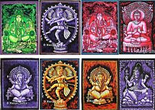 Indian Hindu Goddess Batic Wall Hanging Poster Size Tapestry Wholesale Lot 25 Pc