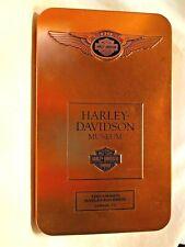 Harley Davidson 110th Anniversary Tin Box Timpanogos HD Lindon Utah Collect GUC