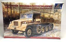 Italeri Schwerer Wehrmachtsschlepper German Cargo Halftrack Model 360 SEALED