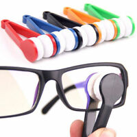High quality 1x Glasses Sunglasses Eyeglass  Cleaner Cleaning Brush Wiper  Lbz