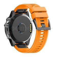 Replacement Silicone Easyfit Wristband Strap for Garmin Fenix 3/3HR GPS Watch BU