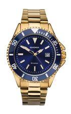 Sekonda Mens Blue Dial Gold Plated Bracelet Watch 1516 RRP £59.99