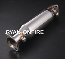 Honda Civic 88-00 hatchback coupe stainless Steel exhaust decat pipe test Pipe