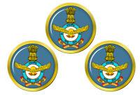 Indien Air Force Marqueurs de Balles de Golf