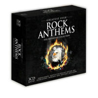 Various Artists : Greatest Ever Rock Anthems CD Box Set 3 discs (2011)