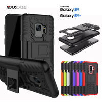MAXCASE Heavy Duty Tough Stand Phone Case Cover For Samsung Galaxy S9 & S9 Plus