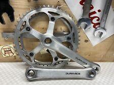 Shimano DURA ACE FC-7402 170mm 49/42 Crankset Kurbelgarnitur vintage