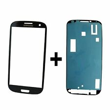 Original Samsung Galaxy S3 GT-i9300 i9301 LCD Display Glas Scheibe Blau + Kleber