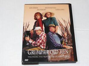 Grumpier Old Men DVD 1997 Comedy Rated-PG13 Walter Matthau Jack Lemmon Ann Margr