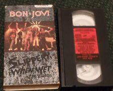 Slippery When Wet [Video] by Bon Jovi (VHS, Jul-1991, Mercury)