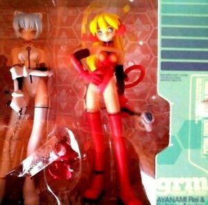 EVANGELION REI AYANAMI & SOHRYU ASUKA  Figur - 16,5 cm im Showcase *NEU*