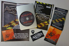Avenger - The Slaughter Never Stops CD 2014 Ltd. Metal Box + Plectrum + Patch
