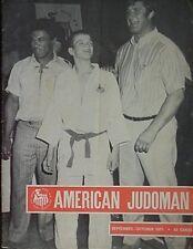1971 AMERICAN JUDOMAN MAGAZINE (ANTON GEESINK CVR