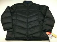 Micheal Kors Men's Black Lightweight Packable Down Fill Puffer Coat Size 2XL