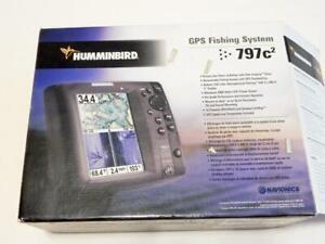 "Humminbird GPS Fishing System, Model 797c2, 5"" Display - FlyMasters TradeUp"