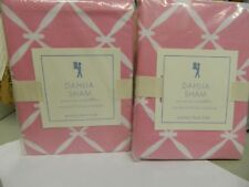 Pottery Barn Kids Dahlia Couvre Oreiller Pillow Sham Standard  Lot of 2