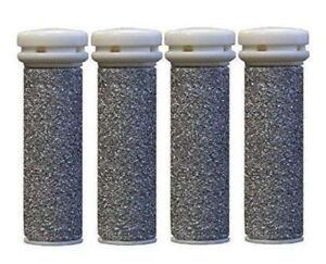 4 x Emjoi Micro EXTREME Mineral Compatible Pedi Replacement Rollers