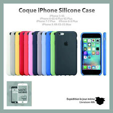 Coque Silicone Case Protection Apple IPhone 6/7/8/Plus/XR/X/XS/XsMAX/11/11p/11pm