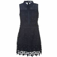 Lace Collar Sleeveless Dresses for Women