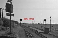 PHOTO  BURMARSH ROAD HALT RAILWAY STATION KENT 1983 RH&DR HYTHE - DUNGENESS NARR