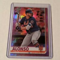 2019 Topps Chrome Update PETE ALONSO Pink Refractor RC Rookie #204 NY Mets ROY