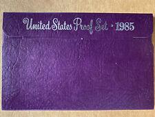 1985 US Proof Set - (5) Coins - OGP