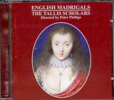 English Madrigals - Peter PHILLIPS / THE TALLIS SCHOLARS - Gimell