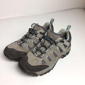 Vasque Womens Vibram Leather Hiking Shoes Size 6.5