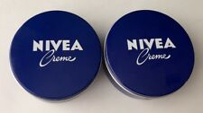 2x 250ml Original GERMAN NIVEA Moisturizing Cream  Hands/ Face/ Body, Pack Of 2