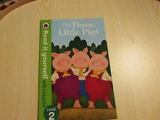 LADYBIRD BOOK READ IT YOURSELF  LEVEL 2 THE THREE LITTLE PIGS