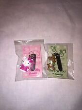 Rare Sanrio Deery Lou Deer And Hello Kitty Small Ball Chain Prize Chain Small