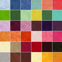 Spraytime Tonal 100% Cotton Fabric Makower Quilting Patchwork Blender