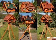 Vogelhaus versch. Größen u. Farben, wahlweise mit Ständer und Solar V19