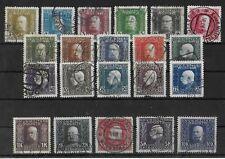 BOSNIA & HERZEGOVINA 1912 Used Complete Set Michel #64-84 CV €230
