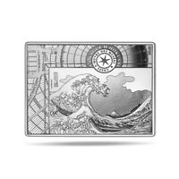 ** 10 euro France 2020 argent BE - La Vague, de Hokusai **