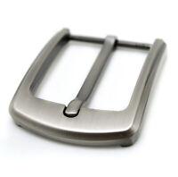 Neu Edelstahl Stiftschnalle für Männer Ledergürtel Ersatz Snap-On 40mm Mode DE