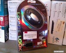 Conceptronic Mouse CLLMLASERT Laser Notebook Maus, 800 dpi, USB, PS/2, NEU
