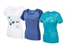Damen Funktionsshirt Fitnessshirt Shirt Kurzarm Feuchtigkeitsregulierung Crivit