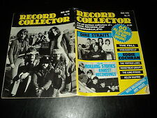 RECORD COLLECTOR 79 (3/86) DIRE STRAITS ROLLING STONES MIKE JAGGER JETHRO TULL