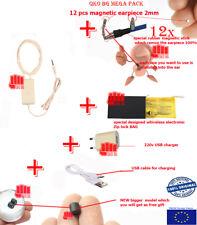 Better performance battery + Best models 14pcs  earpieces FBI spy magnet erphone