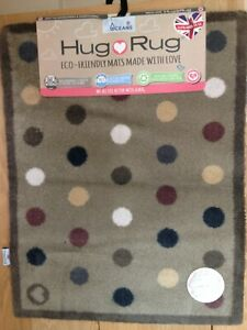 HUG RUG SPOT 10 DIRT TRAPPER SUPER ABSORBENT RUG MACHINE WASHABLE 65 X 85 CM BN
