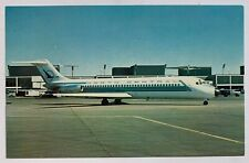 Vintage Postcard North Central Airlines Douglas Dc-9 airplane (Mary Jayne's)