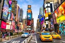 STUNNING NEW YORK TIMES SQUARE CANVAS #507 CITYSCAPE WALL HANGING PICTURE ART A1
