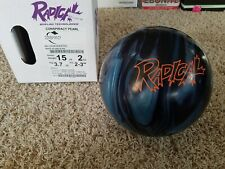 "Radical Conspiracy Pearl 1st Quality 15 Pound Bowling Ball | 2-3"" Pin 