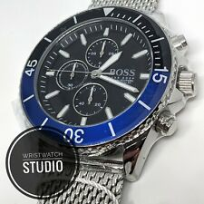 NEW HUGO BOSS OCEAN EDITION STAINLESS STEEL MENS WATCH HB1513742