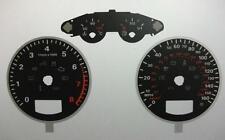 Lockwood Audi A3 Petrol 260KMH w/Distance Icon BLACK Dial Conversion Kit C429A