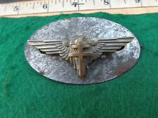 WW2, FREE FRENCH, Paratrooper Beret Badge