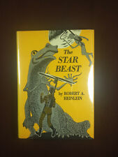 """The Star Beast by Robert Heinlein 1954 Scribners 1st edition """"A"""" mismatched DJ"""