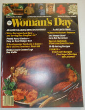Woman's Day Magazine Turkey Dinner & Home Businesses November 1982 020515R